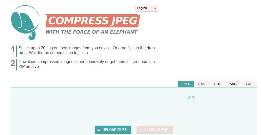 معرفی Online Images Compressor