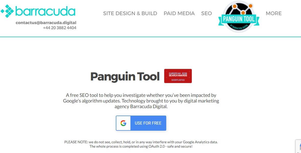 معرفی ابزار Barracuda Panguin